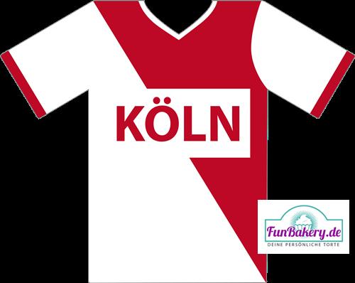 Essbares Fussball Trikot Köln