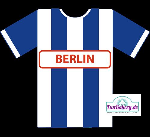 Essbares Fussball Trikot Berlin