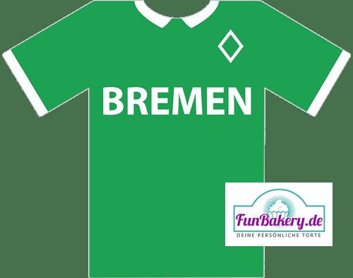 Essbares Fussball Trikot Bremen