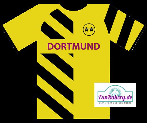 Essbares Fussball Trikot Dortmund