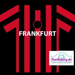 Essbares Fussball Trikot Frankfurt