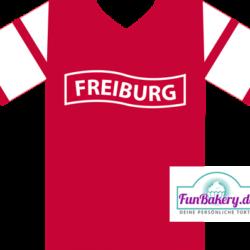Essbares Fussball Trikot Freiburg