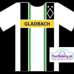 Essbares Fussball Trikot Gladbach