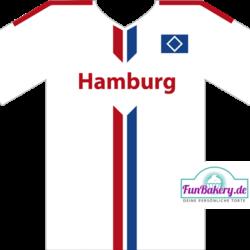 Essbares Fussball Trikot Hamburg