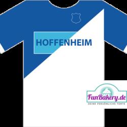 Essbares Fussball Trikot Hoffenheim