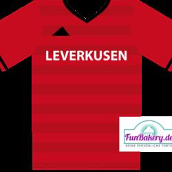 Essbares Fussball Trikot Leverkusen