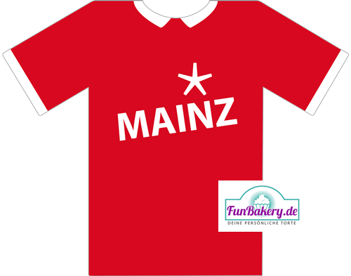 Essbares Fussball Trikot Mainz