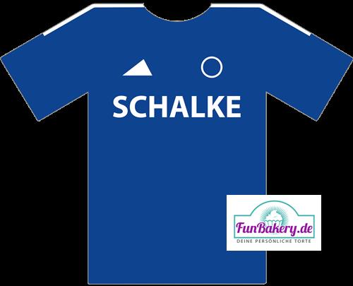 Essbares Fussball Trikot Schalke