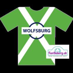 Essbares Fussball Trikot Wolfsburg