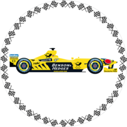 Formel 1 - gelb 1