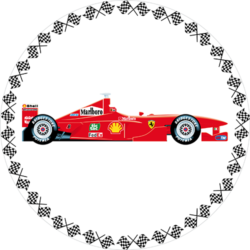 Formel 1 - rot
