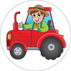 Rote Traktor