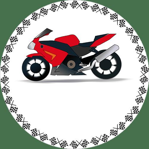 Rotes Motorrad 1