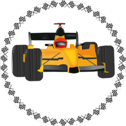 Formel 1 orange 1