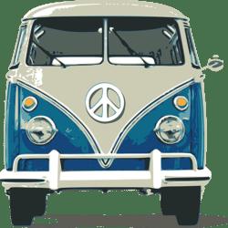 VW Bully 2 (blau-orange)