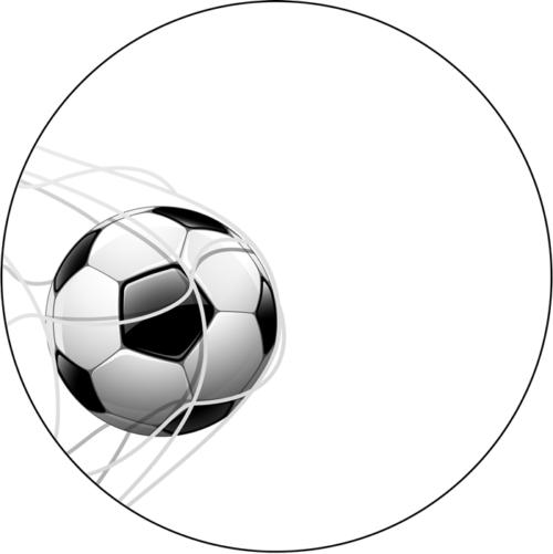 Fußballtor Aufleger