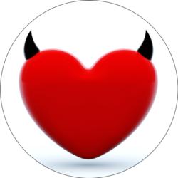 Rotes Teufel Herz