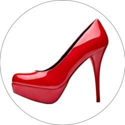 Heisse rote High Heels