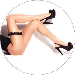 Erotische Frauenbeine