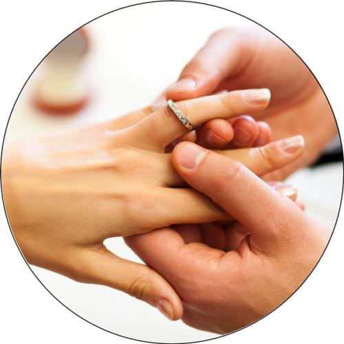 Hochzeit / Eheringe